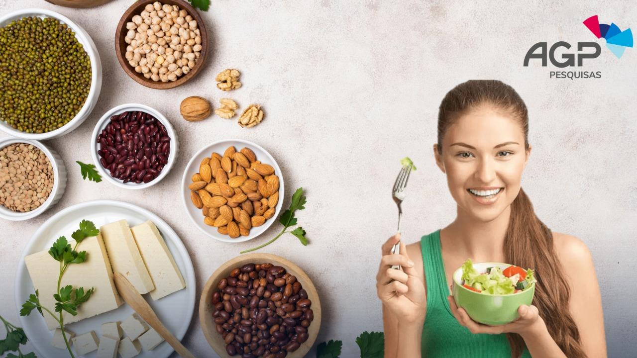 Pesquisa sobre Veganos e Vegetarianos