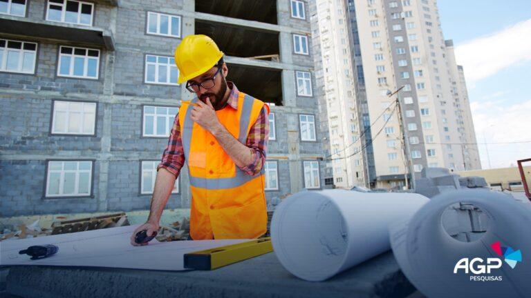 Pesquisa sobre o mercado de construção civil